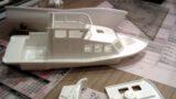 Tochterboot gesteckt