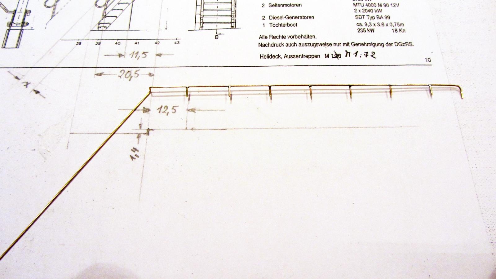 Konstruktion Handlauf