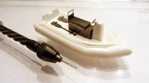 Schlauchboot-Umbau